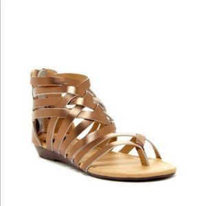 NYLA crisscross sandals!